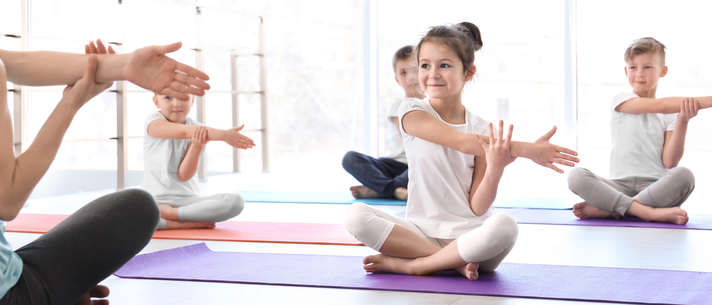 Kids Yoga School Class
