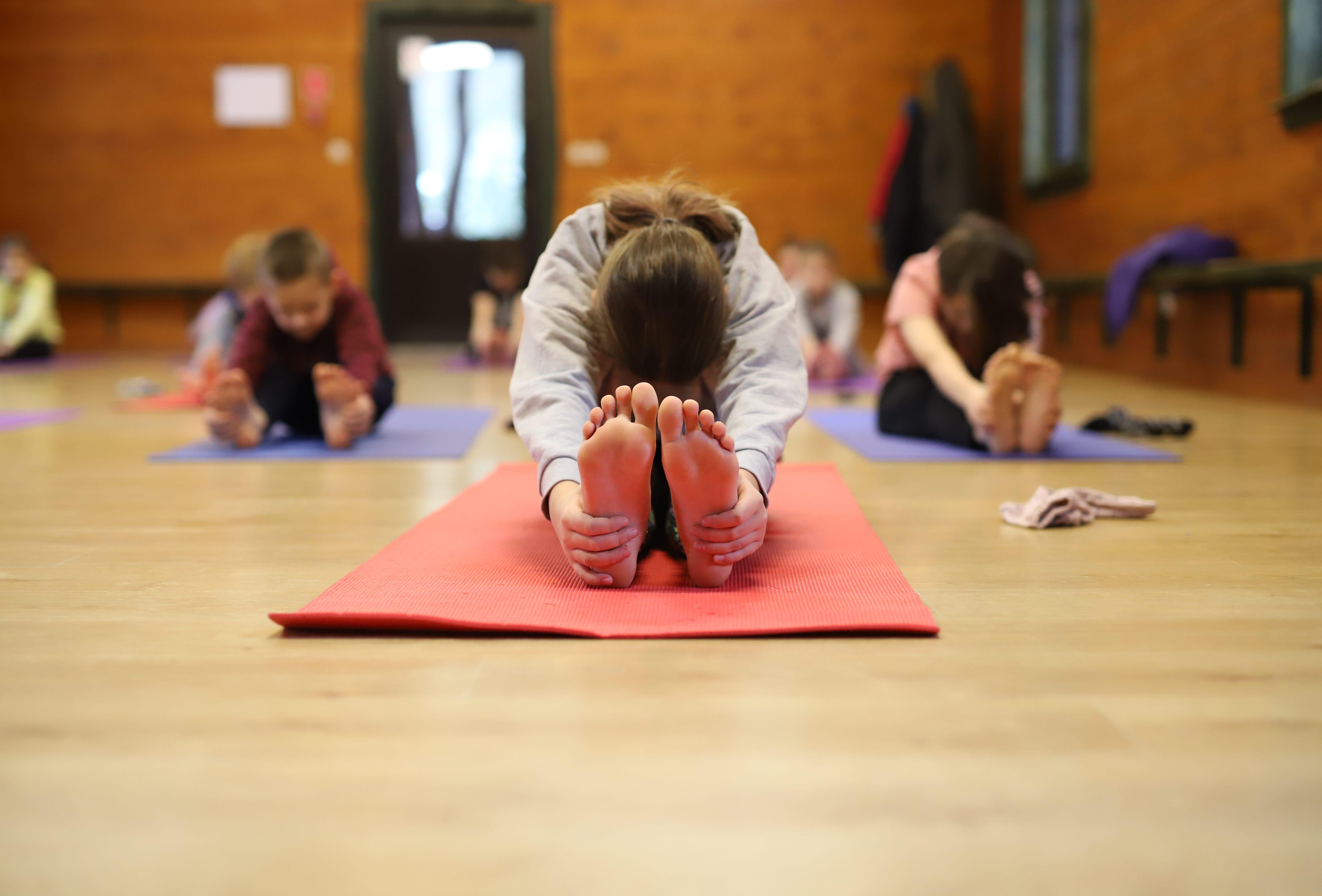 Primary School Yoga Class